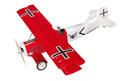 Super Flying Model Fokker DVII EP ARTF Red Image