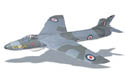 West Wings Hawker Hunter EDF Kit Image