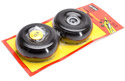 Dubro 1/3 Scale Treaded Lightweight J-3 Cub Wheels (Pair) Image