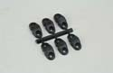 Slec Saddle Clamp - Black/8SWG (Pk6) Image