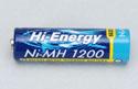 Hi-Energy 1.2v 1200mAh Ni-MH AA Cell Image