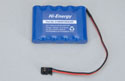 Hi-Energy 6V 1200mAh Ni-MH Rx Pack (Flat) Image