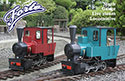 OS Live Steam Forte Kit - Freelance Narrow Gauge 0-6-0 Tank Locomotive Image