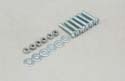 Slec Nut/Bolt/Washer - 5x25mm (Pk6) Image