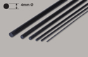 Ripmax Carbon Fibre Rod - 4x1000mm Image
