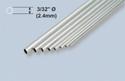 K&S Aluminium Tube  3/32x36