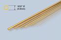 K&S Brass Rod - 5/32 x 36