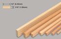 Slec Balsa Strip 1/16x1/4x36