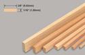Slec Balsa Strip 1/16x3/8x36