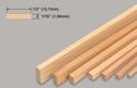 Slec Balsa Strip 1/16x1/2x36