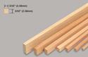 Slec Balsa Strip 3/32x3/32x36