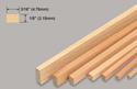 Slec Balsa Strip 1/8x3/16x36