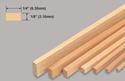 Slec Balsa Strip 1/8x1/4x36
