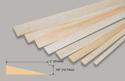 Slec Balsa Trailing Edge 1/2 x 2 x 36