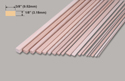 Slec Obechi Strip 1/8x3/8x36