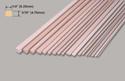 Slec Obechi Strip 3/16x1/4x36