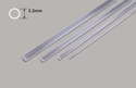 Plastruct Clear Acrylic Rod - 3.2mm*900mm Image
