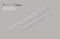 Plastruct N Handrail x 92mm Image