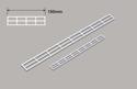 Plastruct HO Handrail x 150mm Image