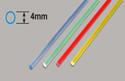Plastruct Light-Gather Rod - Blue   4 x 250mm Image