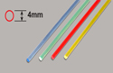 Plastruct Light-Gather Rod - Red    4 x 250mm Image