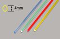 Plastruct Light-Gather Rod - Yellow 4 x 250mm Image