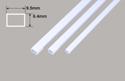 Plastruct Rectangle Tube - 9.5 x 6.4 x 375mm Image