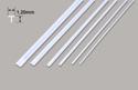 Plastruct Tee Section - 1.20 x 1.20 x 250mm Image