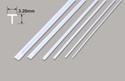 Plastruct Tee Section - 3.20 x 3.20 x 375mm Image
