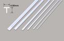Plastruct Tee Section - 4.80 x 4.80 x 610mm Image