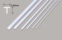 Plastruct Tee Section - 6.40 x 6.40 x 610mm Image