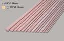 Slec Spruce 1/8x1/8x36