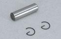 CEN Piston Pin & Circlips - Corsa 18 Image
