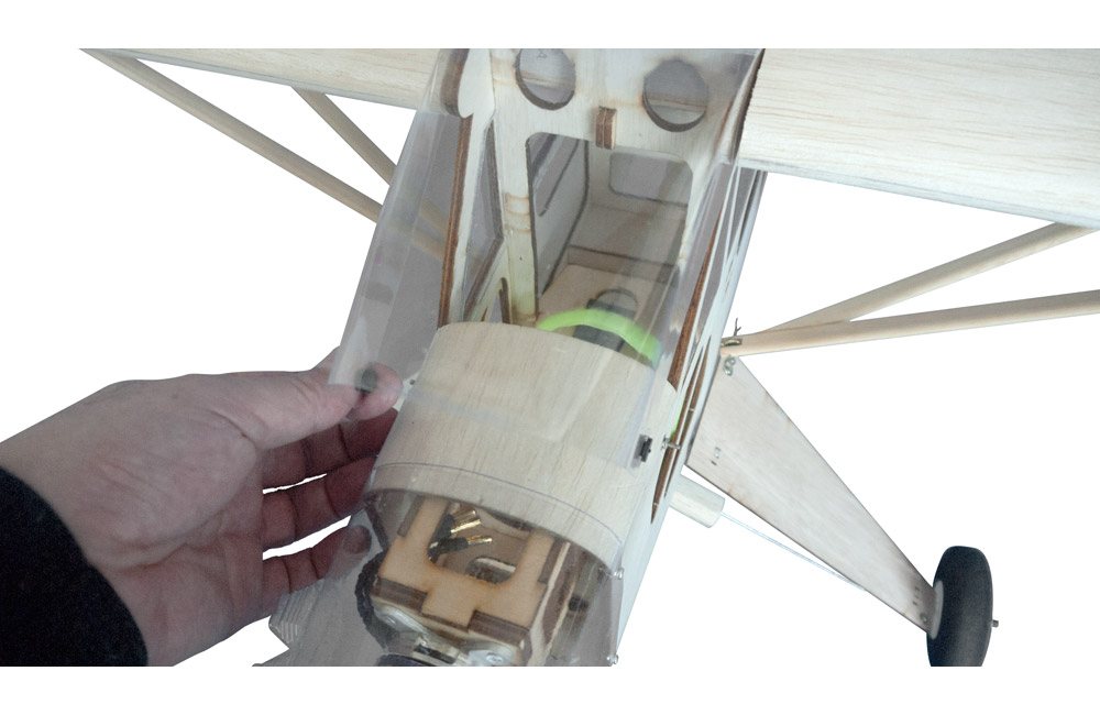 Super Flying Model Piper J 3 Cub 40 Kit A Sfm867k