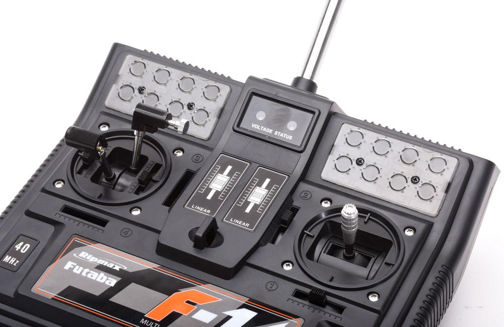 P-TFRT1564 Futaba F14 Twin Boat Stick
